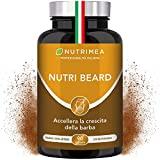 Nutrimea - Nutribeard crescita della barba Uomo Plus