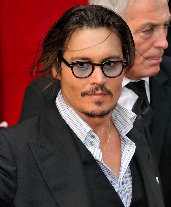 baffi e pizzetto johnny depp