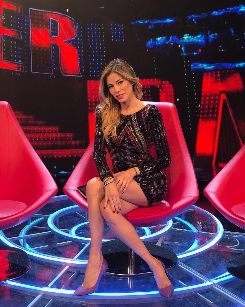 Aida Yespica in tv