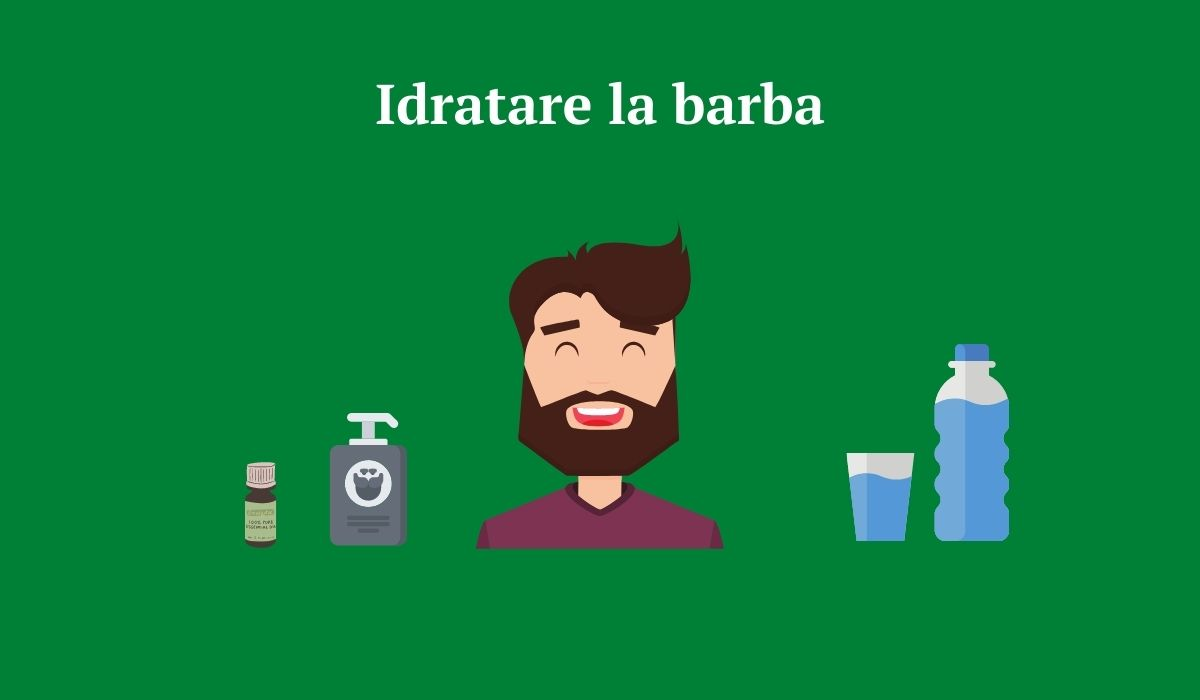 Far crescere la barba idratare